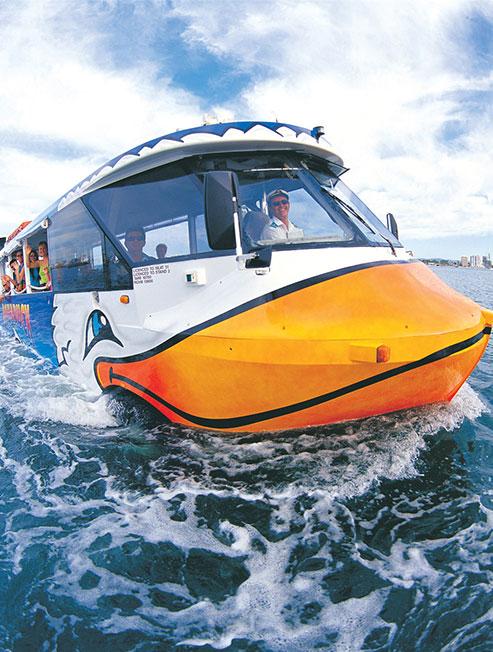 Duck Tour Gold Coast